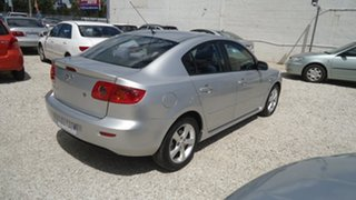 2005 Mazda 3 BK10F1 Maxx Silver 4 Speed Sports Automatic Hatchback