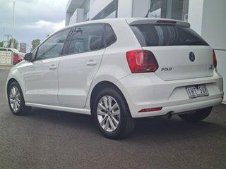 2016 Volkswagen Polo 81TSI Comfortli White 7SPD DSG TRANS Sedan.