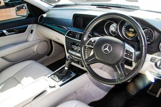 2011 Mercedes-Benz C-Class W204 MY11 C200 BlueEFFICIENCY 7G-Tronic + White 7 Speed Sports Automatic
