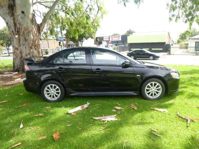 Used Mitsubishi Lancer CJ ES Sport Beverley, 2015 Mitsubishi Lancer CJ ES Sport Black Constant Variable Sedan