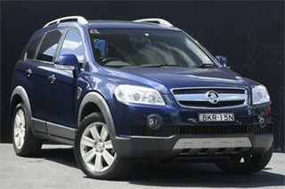 2009 Holden Captiva CG MY09 LX AWD Blue 5 Speed Sports Automatic Wagon.