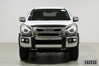 2018 Isuzu MU-X UC MY18 LS-U (4x4) White 6 Speed Auto Sequential Wagon.