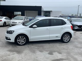 2017 Volkswagen Polo 6R MY17.5 66TSI DSG Urban White 7 Speed Sports Automatic Dual Clutch Hatchback