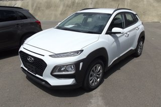 2019 Hyundai Kona OS.2 MY19 Go 2WD White 6 Speed Sports Automatic Wagon