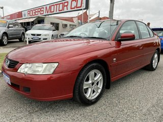 2003 Holden Commodore VY Lumina Red 4 Speed Automatic Sedan.