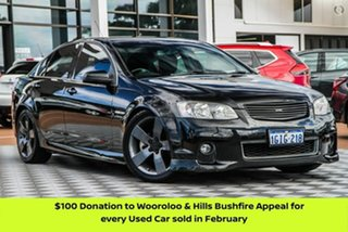 2012 Holden Commodore VE II MY12.5 SS Z Series Black 6 Speed Manual Sedan.