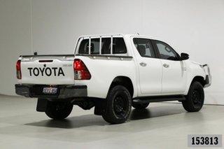 2015 Toyota Hilux GUN126R SR (4x4) White 6 Speed Manual Dual Cab Utility