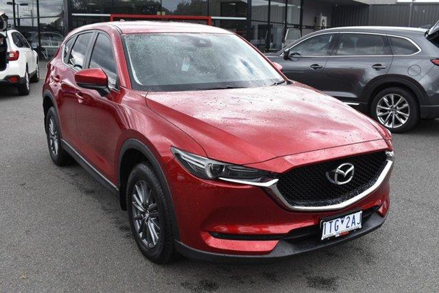 Used Mazda CX-5 KF4W2A Maxx SKYACTIV-Drive i-ACTIV AWD Sport Wantirna South, 2017 Mazda CX-5 KF4W2A Maxx SKYACTIV-Drive i-ACTIV AWD Sport Red/Black 6 Speed Sports Automatic