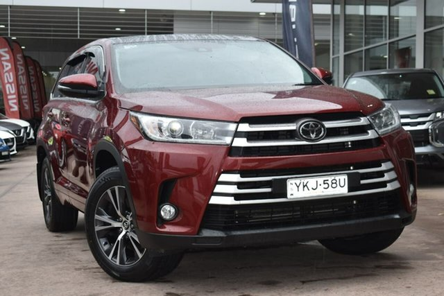Used Toyota Kluger GSU55R GX AWD Blacktown, 2017 Toyota Kluger GSU55R GX AWD Red 8 Speed Sports Automatic Wagon
