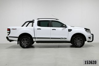 2018 Ford Ranger PX MkII MY18 FX4 Special Edition White 6 Speed Manual Double Cab Pick Up