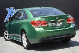 2011 Holden Cruze JH Series II MY11 SRi Green 6 Speed Sports Automatic Sedan
