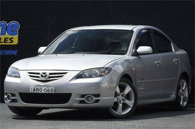 Used Mazda 3 BK1031 SP23 Campbelltown, 2004 Mazda 3 BK1031 SP23 5 Speed Manual Sedan