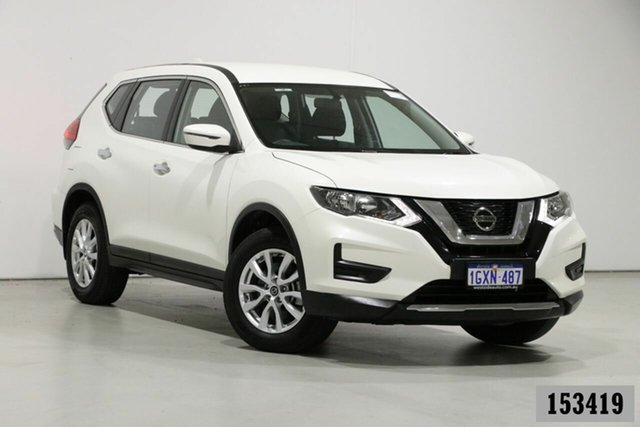 Used Nissan X-Trail T32 Series 2 ST 7 Seat (2WD) Bentley, 2019 Nissan X-Trail T32 Series 2 ST 7 Seat (2WD) White Continuous Variable Wagon