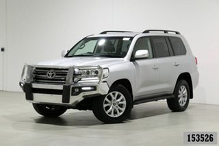 2016 Toyota Landcruiser VDJ200R MY16 VX (4x4) Silver 6 Speed Automatic Wagon.