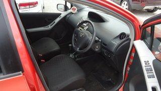 2006 Toyota Yaris NCP90R YR Orange 4 Speed Automatic Hatchback