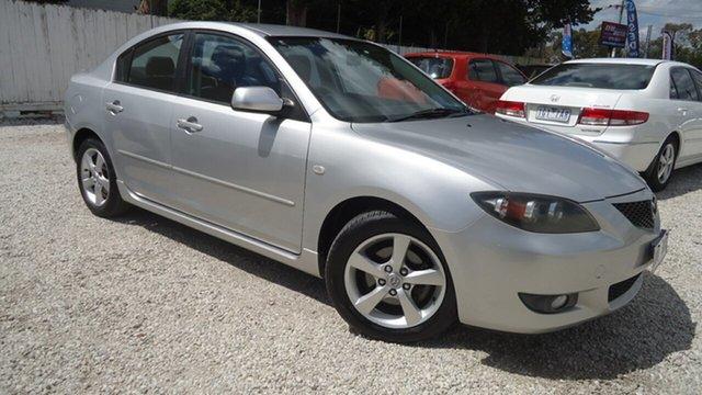 Used Mazda 3 BK10F1 Maxx Seaford, 2005 Mazda 3 BK10F1 Maxx Silver 4 Speed Sports Automatic Hatchback