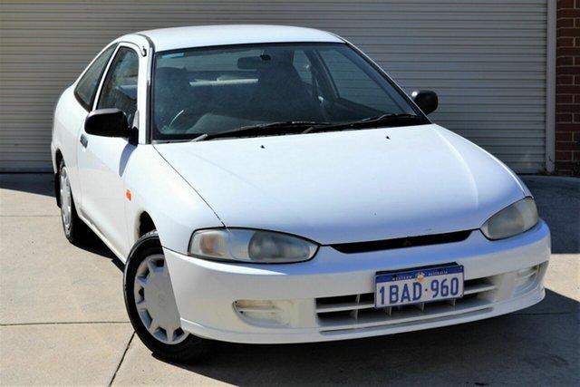 Used Mitsubishi Lancer CE2 GLi Mount Lawley, 2000 Mitsubishi Lancer CE2 GLi White 5 Speed Manual Coupe
