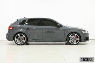 2020 Audi S3 8V MY20 2.0 TFSI Quattro Grey 7 Speed Auto S-Tronic Sportback
