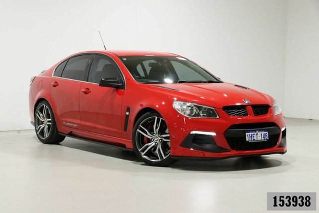 Used Holden Special Vehicles ClubSport Gen F2 R8 LSA Bentley, 2015 Holden Special Vehicles ClubSport Gen F2 R8 LSA Sting Red 6 Speed Manual Sedan
