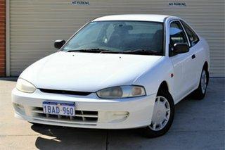 2000 Mitsubishi Lancer CE2 GLi White 5 Speed Manual Coupe.