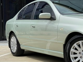 2002 Ford Fairmont BA Silver 4 Speed Automatic Sedan