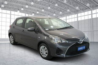 2014 Toyota Yaris NCP130R Ascent Grey 4 Speed Automatic Hatchback.