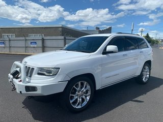 2013 Jeep Grand Cherokee WK MY2014 Overland White 8 Speed Sports Automatic Wagon