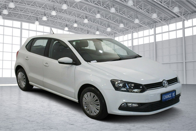 Used Volkswagen Polo 6R MY15 66TSI Trendline Victoria Park, 2015 Volkswagen Polo 6R MY15 66TSI Trendline White 5 Speed Manual Hatchback