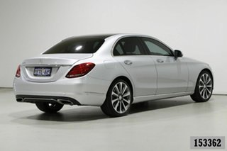 2014 Mercedes-Benz C250 205 Silver 7 Speed Automatic Sedan
