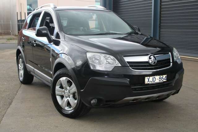 Used Holden Captiva CG MY10 5 (4x4) West Footscray, 2010 Holden Captiva CG MY10 5 (4x4) Black 5 Speed Automatic Wagon