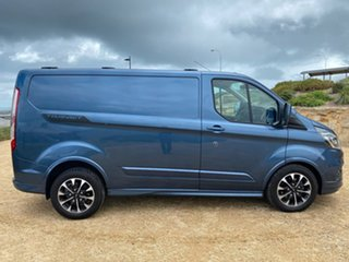 2019 Ford Transit Custom VN 2019.75MY 320S (Low Roof) Sport Blue 6 Speed Automatic Van.
