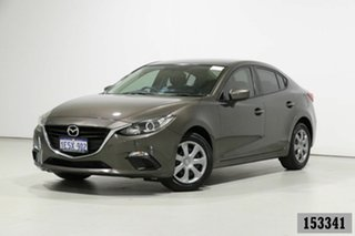 2014 Mazda 3 BM Neo Grey 6 Speed Automatic Sedan.