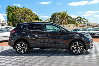 2019 Nissan Qashqai J11 Series 2 Ti X-tronic Pearl Black 1 Speed Constant Variable Wagon
