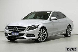 2014 Mercedes-Benz C250 205 Silver 7 Speed Automatic Sedan.