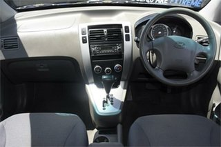2007 Hyundai Tucson JM City Blue 4 Speed Sports Automatic Wagon