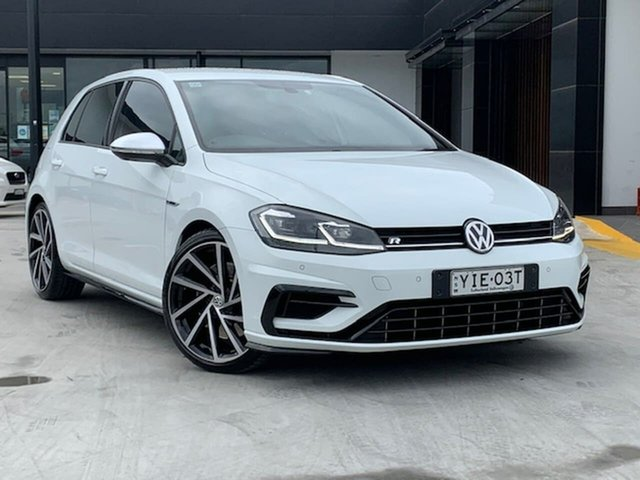 Used Volkswagen Golf 7.5 MY18 R DSG 4MOTION Liverpool, 2017 Volkswagen Golf 7.5 MY18 R DSG 4MOTION White 7 Speed Sports Automatic Dual Clutch Hatchback