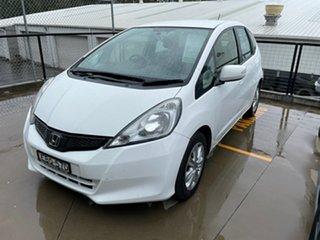 2012 Honda Jazz GE MY12 Vibe White 5 Speed Automatic Hatchback.