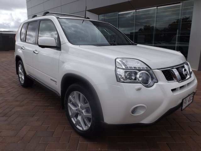 Used Nissan X-Trail T31 Series IV TI Toowoomba, 2012 Nissan X-Trail T31 Series IV TI White 1 Speed Constant Variable Wagon