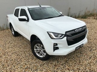 2020 Isuzu D-MAX TF MY19 LS-M (4x4) White 6 Speed Automatic Crew Cab Utility.