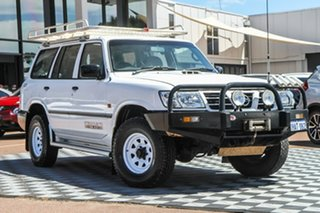 2003 Nissan Patrol GU III MY2003 DX White 5 Speed Manual Wagon
