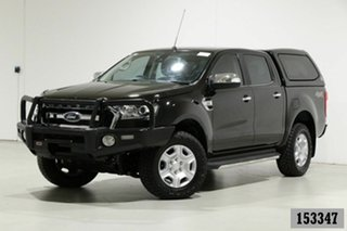 2017 Ford Ranger PX MkII MY17 Update XLT 3.2 (4x4) Black 6 Speed Automatic Double Cab Pick Up.