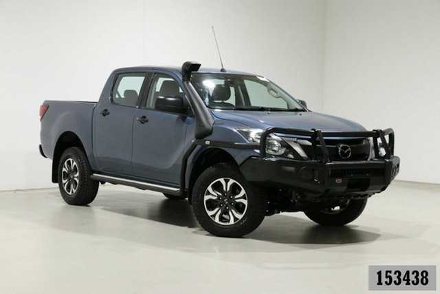 Used Mazda BT-50 MY16 XT (4x4) Bentley, 2016 Mazda BT-50 MY16 XT (4x4) Blue 6 Speed Automatic Dual Cab Utility