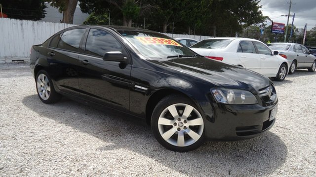 Used Holden Commodore VE Lumina Seaford, 2007 Holden Commodore VE Lumina Black 4 Speed Automatic Sedan