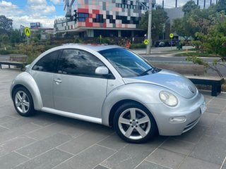 2000 Volkswagen Beetle 9C Coupe Silver 4 Speed Automatic Liftback.
