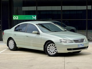 2002 Ford Fairmont BA Silver 4 Speed Automatic Sedan.