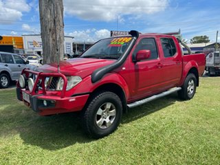 2010 Nissan Navara D40 MY10 ST-X Red 6 Speed Manual Utility.