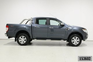 2015 Ford Ranger PX XLT 3.2 (4x4) Grey 6 Speed Automatic Double Cab Pick Up