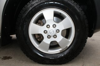 2010 Nissan Navara D40 RX (4x4) Silver 6 Speed Manual Cab Chassis