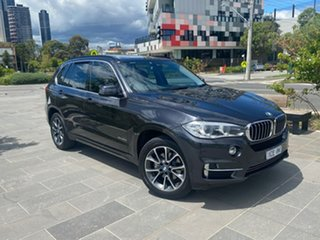 2014 BMW X5 F15 xDrive30d Grey 8 Speed Sports Automatic Wagon.