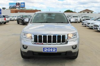 2012 Jeep Grand Cherokee WK MY2012 Laredo Silver 5 Speed Sports Automatic Wagon